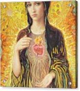 Immaculate Heart of Mary olmc Acrylic Print