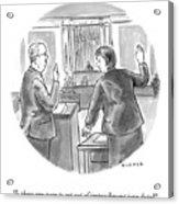 Impeachment Jury Duty Acrylic Print