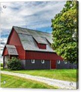 Indiana Barn #126 Acrylic Print