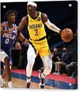 Indiana Pacers v Philadelphia 76ers Acrylic Print