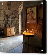 Inside the Jvari Church, Mtskheta Acrylic Print