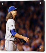 Jacob Degrom and Jorge Soler Acrylic Print