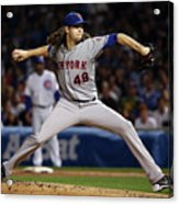 Jacob Degrom Acrylic Print