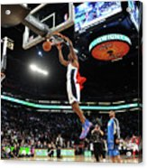 Jameer Nelson and Dwight Howard Acrylic Print
