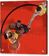 Javale Mcgee, James Harden, and Lonzo Ball Acrylic Print