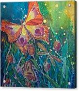 Jeweled Butterfly Fantasy Acrylic Print