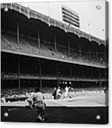 Joe Dimaggio and Yogi Berra Acrylic Print