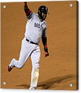 Jonny Gomes and David Ortiz Acrylic Print