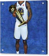 Jordan Bell Acrylic Print