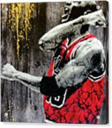 Jordan - The Best There Ever Was Acrylic Print