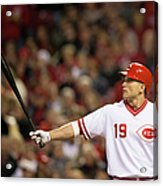 Josh Harrison and Joey Votto Acrylic Print