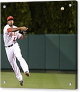Justin Smoak and Howie Kendrick Acrylic Print