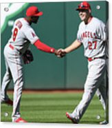 Justin Upton and Mike Trout Acrylic Print