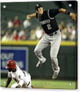 Justin Upton and Troy Tulowitzki Acrylic Print