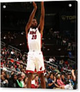 Justise Winslow Acrylic Print