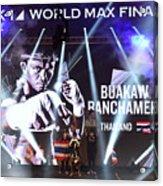 K1 World Max Final Acrylic Print