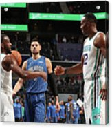 Kemba Walker and Dwight Howard Acrylic Print