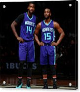Kemba Walker and Michael Kidd-gilchrist Acrylic Print