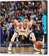 Kemba Walker and Stephen Curry Acrylic Print