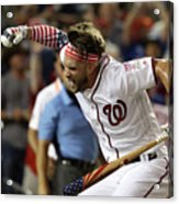 Kyle Schwarber and Bryce Harper Acrylic Print