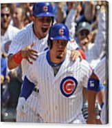 Kyle Schwarber and Willson Contreras Acrylic Print