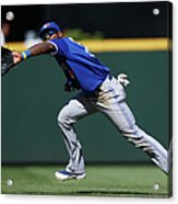 Kyle Seager and Jose Reyes Acrylic Print