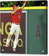 Kyle Seager and Mike Trout Acrylic Print
