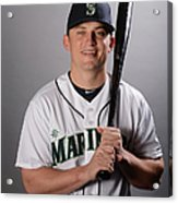Kyle Seager Acrylic Print