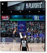 LA Clippers v Dallas Mavericks - Game Four Acrylic Print