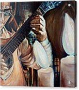 La Guitarra- Portuguese Guitar Acrylic Print