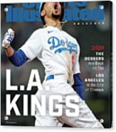 Los Angeles Dodgers Special World Series Commemorative Sports Illustrated Cover Acrylic Print