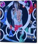 Ladies And Gentlemen - The Rolling Stones Acrylic Print