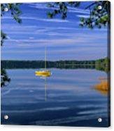 Lake Massabesic - Auburn New Hampshire  Usa Acrylic Print