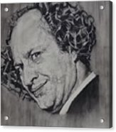 Larry Fine Of The Three Stooges - Where's Your Dignity? Acrylic Print