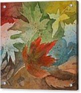 Leaves II Acrylic Print