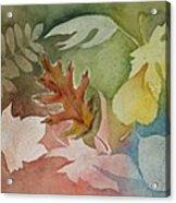 Leaves IV Acrylic Print