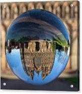 Lichfield lens ball Acrylic Print