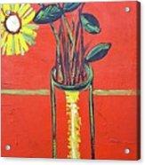Lido flower Acrylic Print