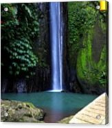 Lonely waterfall Acrylic Print