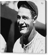 Lou Gehrig Acrylic Print