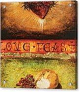 Love Feast Acrylic Print