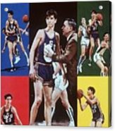 Lsu Pete Maravich Sports Illustrated Cover Acrylic Print