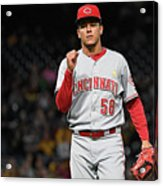 Luis Castillo and Chris Stewart Acrylic Print