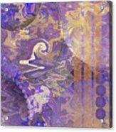 Lunar Impressions - Square Version Acrylic Print