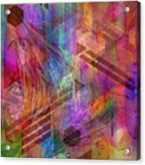 Magnetic Abstraction Acrylic Print