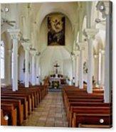 Maria Lanakila Church Interior Acrylic Print