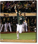 Mark Canha and Billy Butler Acrylic Print