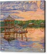 Marsh View at Pawleys Island Acrylic Print