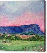 Massanutten Peak Beyond Dawn - Sold Acrylic Print