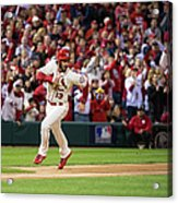 Matt Carpenter and Matt Holliday Acrylic Print